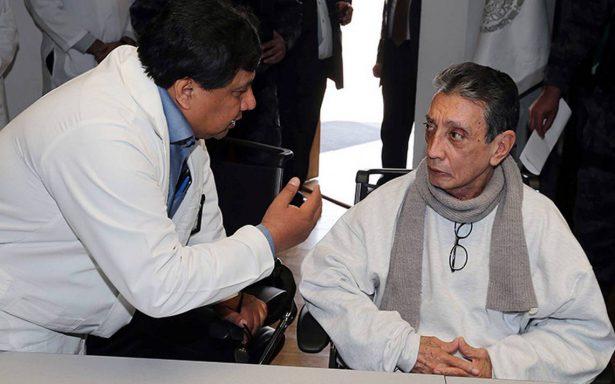 Hospitalizan a Mario Villanueva en una clínica privada