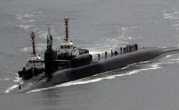 Submarino de EU arriba a Corea del Sur para unirse a maniobras militares