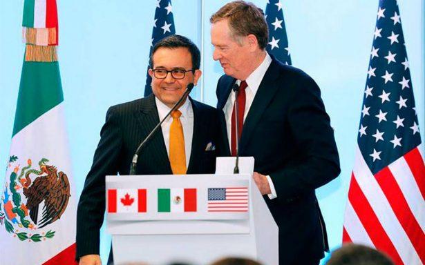 Videgaray y Guajardo avanzan diálogo del TLCAN con Lighthizer y Kushner