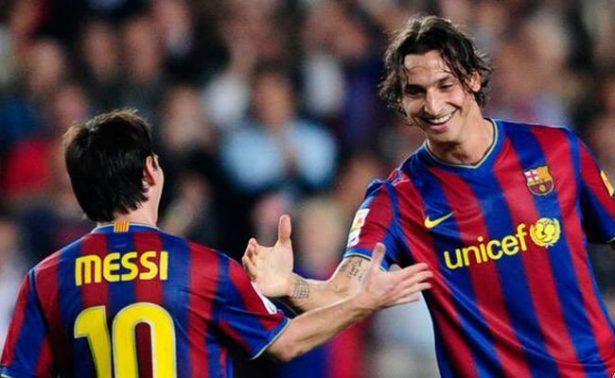 Lionel Messi juega como en la Play Station: Zlatan Ibrahimovic