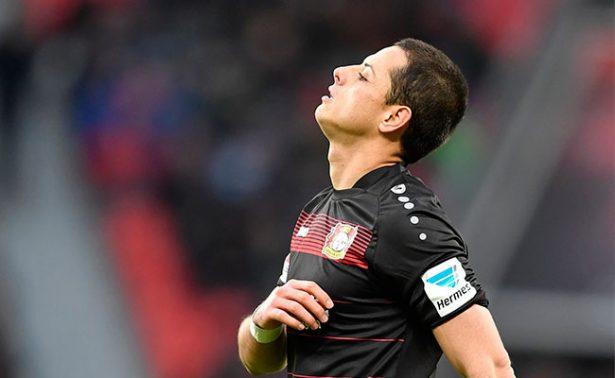 Descenso persigue al Chicharito y al Bayer Leverkusen