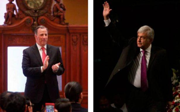 López Obrador: ni a destape llega la precandidatura de Meade