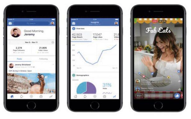 Facebook mejora la experiencia de los creadores de contenido