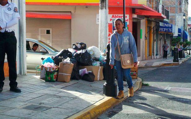 Las calles de Chilpancingo se convierten en basurero