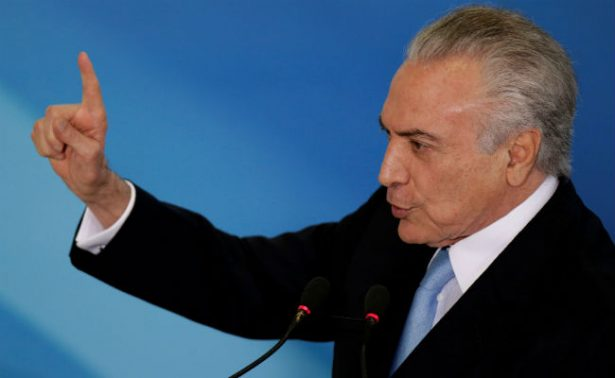 Temer decide no ir a cumbre del G20 en medio de crisis política