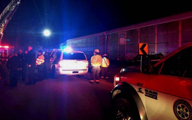 Choque de trenes en Carolina del Sur deja dos muertos y 70 heridos