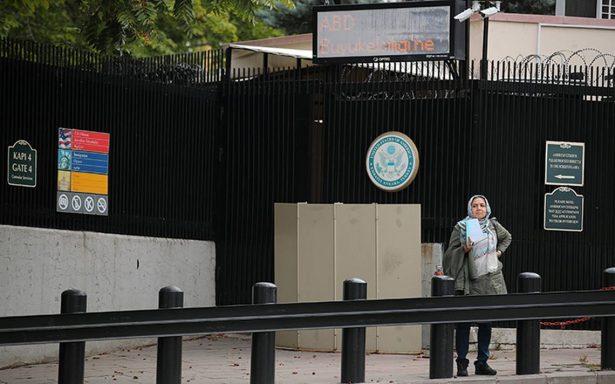 Turquía ordena más arrestos en consulado de EU por vínculo con golpe de estado