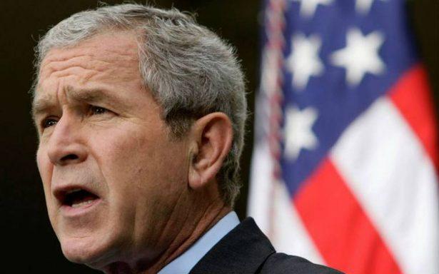 George W. Bush afirma que hay evidencia clara de injerencia rusa en elecciones