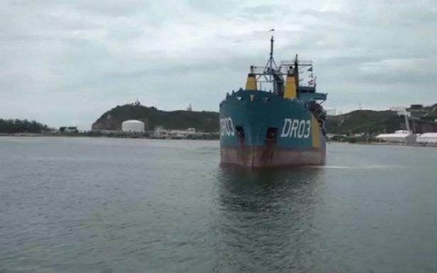 Arriba a Oaxaca buque Bahía Kino con 117 toneladas de ayuda para damnificados
