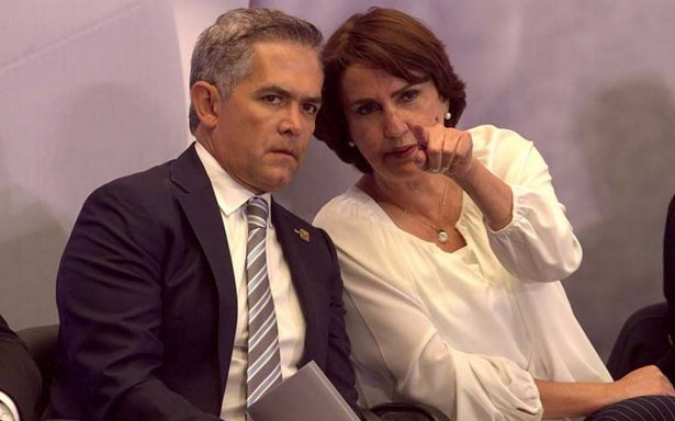 Patricia Mercado deja la CDMX; Mancera acepta su renuncia