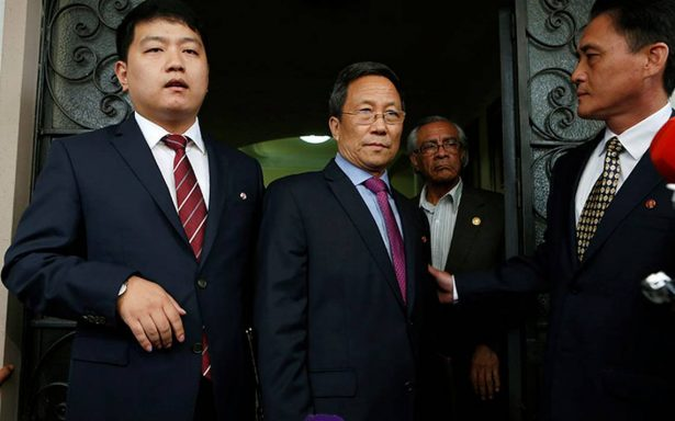"""Embajador norcoreano considera expulsión como medida """"ignorante"""" de México"""