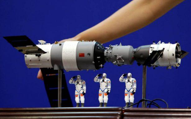 Laboratorio espacial chino Tiangong-1 se destruyó al entrar a la atmósfera