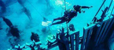Inauguran en Europa el primer museo debajo del mar