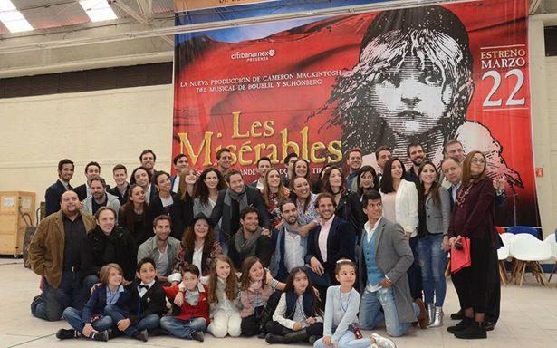 La puesta en escena Los Miserables se renuevan