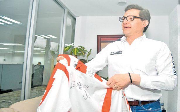 Salomón Chertorivski quiere a Necaxa en la Ciudad de México
