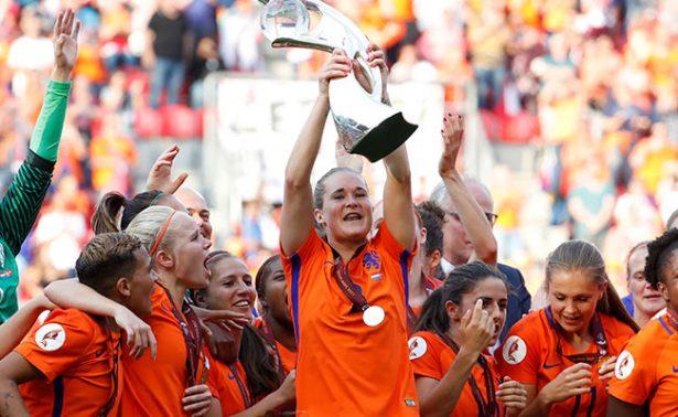 Holanda, campeona de la Euro femenil