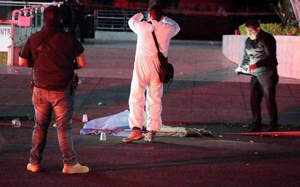 Octubre, el mes más violento en 20 años con 2,371 homicidios