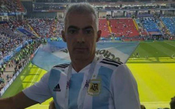 [Video] Expulsan del mundial a hincha argentino que se aprovechó de una rusa