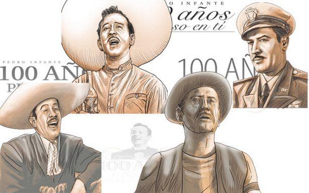 Los personajes de Pedro Infante