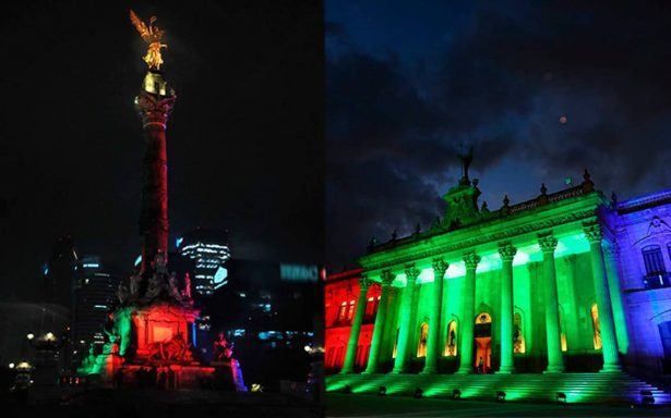 Iluminados por el Mundial 2026: México celebra encendiendo monumentos emblemáticos