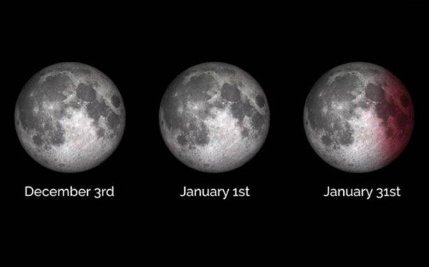 Serie de superlunas destellará para despedir el 2017 y recibir el Año Nuevo