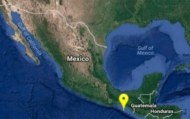 Sismo de magnitud 5.2 estremece en Chiapas