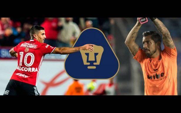 Oficial: Malcorra y Fraga, nuevos jugadores de Pumas
