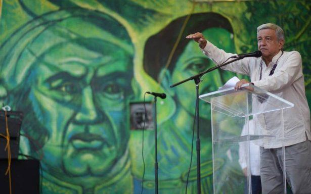 """AMLO cuidará lenguaje pero antes mandará """"por un tubo"""" a la corrupción"""