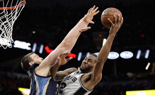 Los Spurs de San Antonio vencieron a los Grizzlies de Memphis