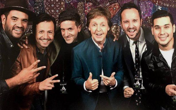 ¡Los Claxons y Paul McCartney, juntos por primera vez!