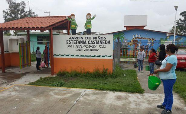 Suspenden clases en preescolar de Tlaxcala por coxsackie