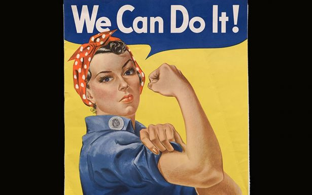 La inspiración de este icónico póster murió en EU… ella fue Rosie the Riveter