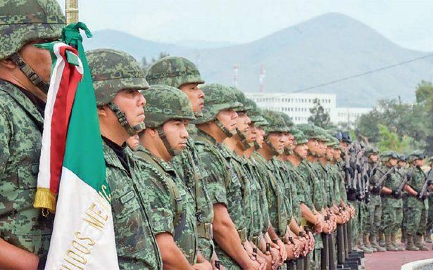 Llegan mil 500 elementos del Ejército mexicano a Guanajuato para combatir al delincuencia