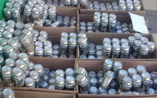 Drogas y cervezas para el penal