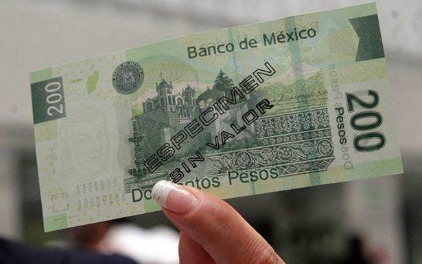 Billete de 200 pesos, el más falsificado
