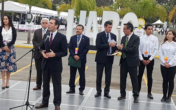 "Lorenzo Córdova llama a candidatos estar ""a la altura"" del segundo debate"