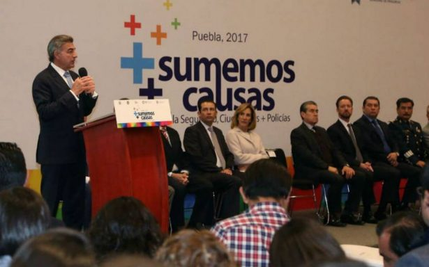 Los Rojos sí operan en Puebla, reconoce el gobernador Gali Fayad