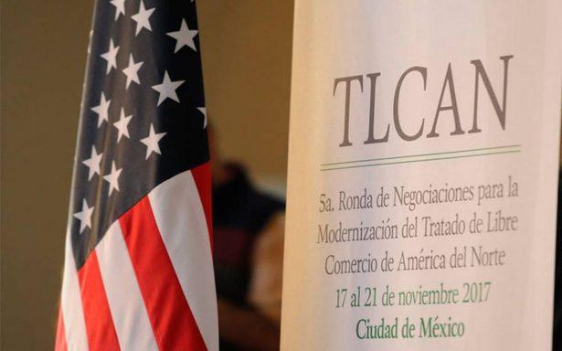 Sin cerrar capítulos, concluye en México quinta ronda de negociación del TLCAN