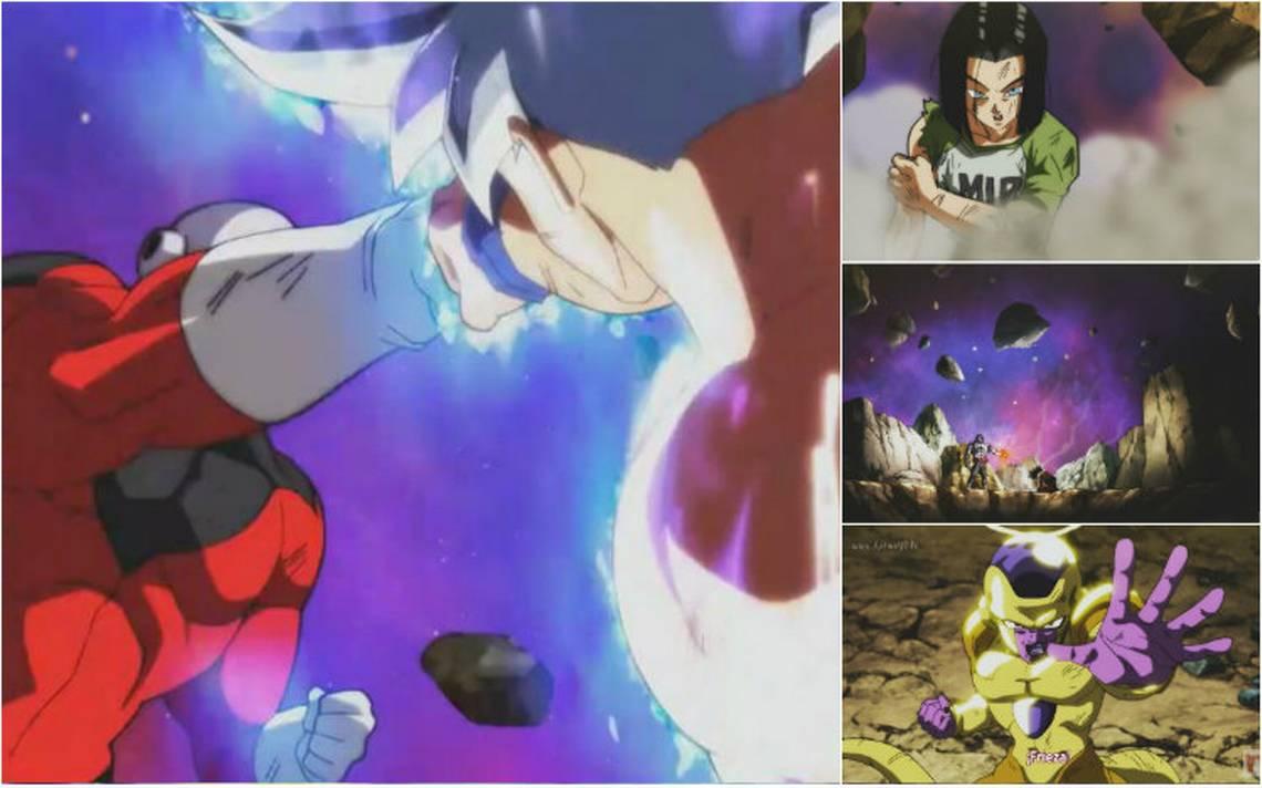 Así fue la pelea de Gokú contra Jiren en Dragon Ball Super