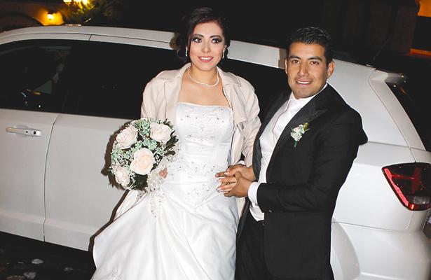 Mónica y Edgar. Foto: El Sol de Hidalgo.