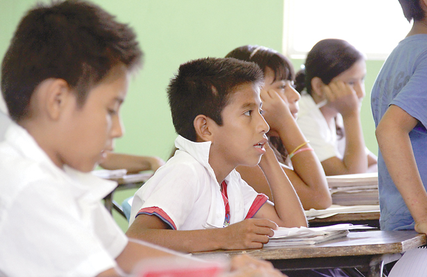Atienden en 64 albergues a niños indígenas