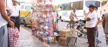 Sigue creciendo el comercio ambulante