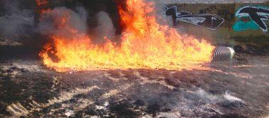 Latente peligro por quemazones
