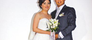 Georgina y Omar, feliz pareja