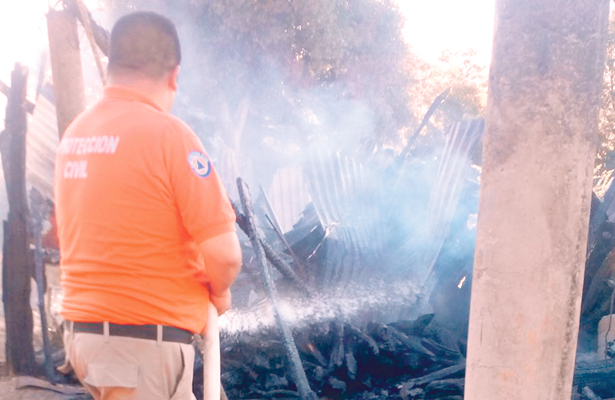 Incendios dejan saldo de daños