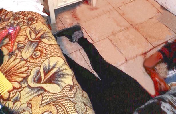 Noche de terror en hotel de paso, muere una mujer, y al parecer su novio