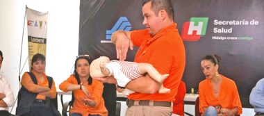 Impartieron taller para  prevenir accidentes