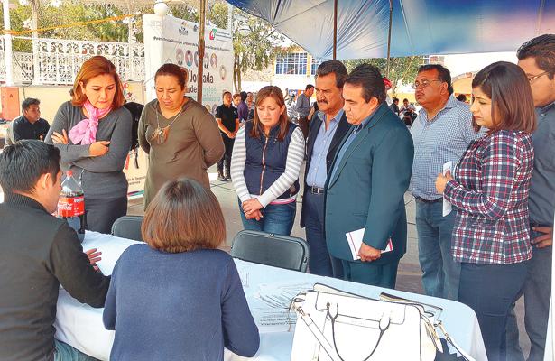 Jornada del empleo  en Tolcayuca