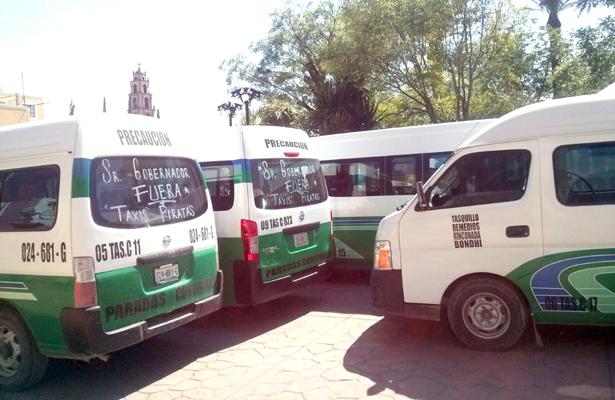Transporte del estado incumplió