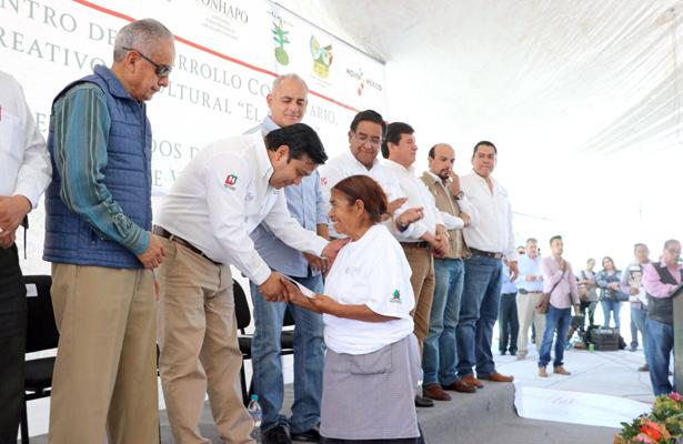 Más Centros de Desarrollo Comunitario